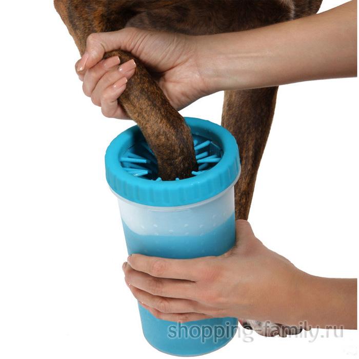 Силиконовая лапомойка для собак Soft Gentle, 15 см