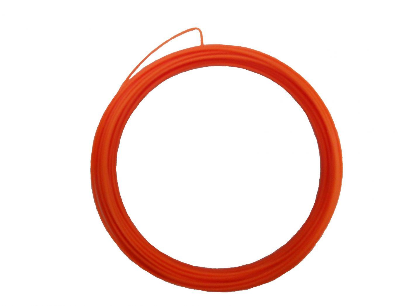 Пластик для 3d ручки ABS оранжевый 10м