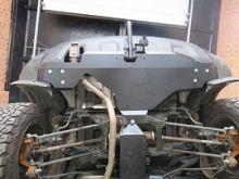 Защита заднего бампера, Motodor, сталь 2мм