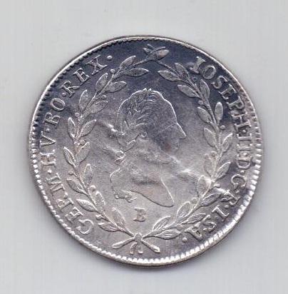 20 крейцеров 1785 г. Кремниц. Священная Римская Империя