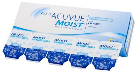 1 Day Acuvue Moist for Astigmatism (30 шт)