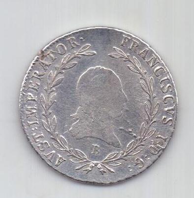 20 крейцеров 1813 г. Кремниц. Священная Римская Империя