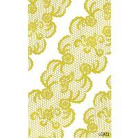 Nail Art Stickers Стикеры для дизайна ногтей LC021, золото