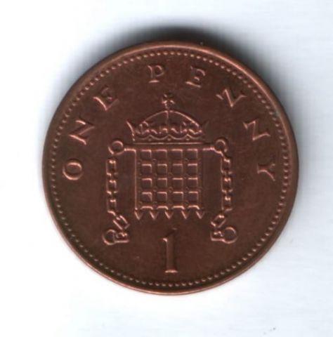 1 пенни 2003 года Великобритания
