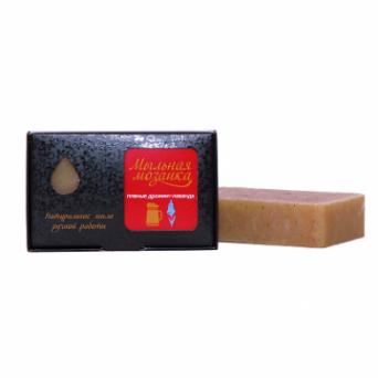 Натуральное мыло Пивные дрожжи-лаванда, 100 г