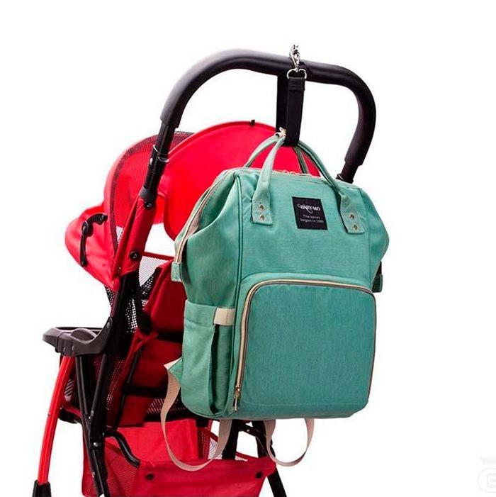 Сумка-Рюкзак Для Мамы Mummy Bag зеленый