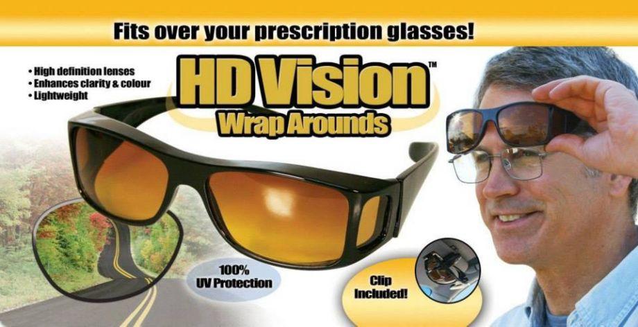 Очки-Маска Hd Vision Wrap Arounds