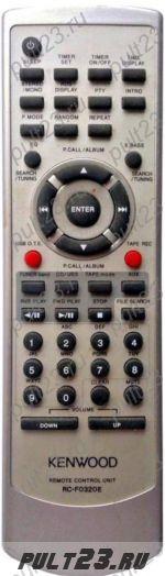 KENWOOD RC-F0320E, M-505USB, RXD-M505USB