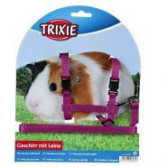 Trixie Шлейка с поводком для морских свинок