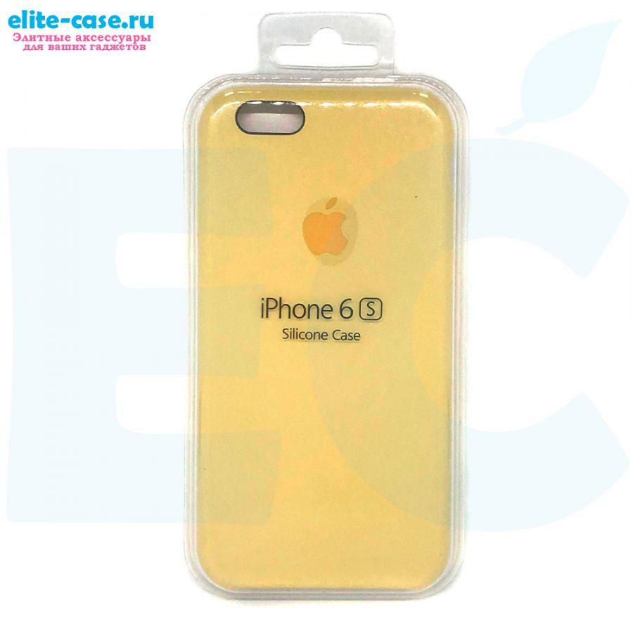 Силиконовый чехол Silicon Case для Apple iPhone 6/6S песочный