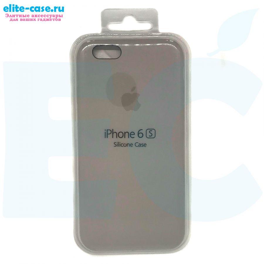 Силиконовый чехол Silicon Case для Apple iPhone 6/6S серый