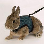 Ferplast Шлейка с поводком для кроликов Jogging L