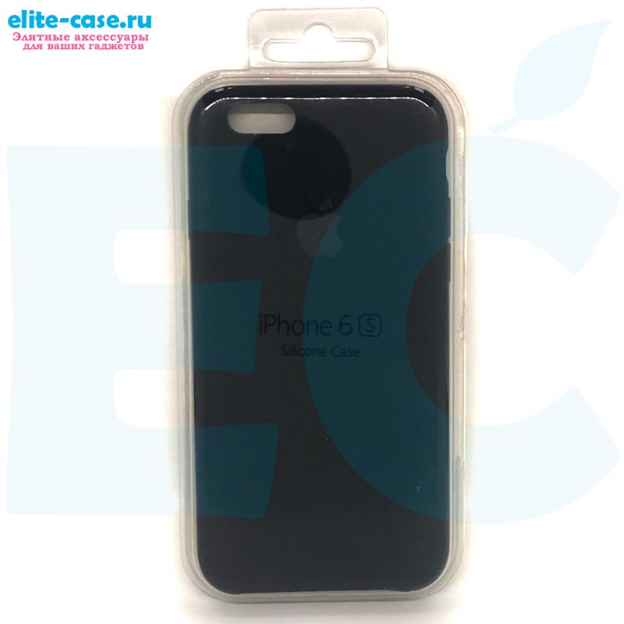Силиконовый чехол Silicon Case для Apple iPhone 6/6S черный