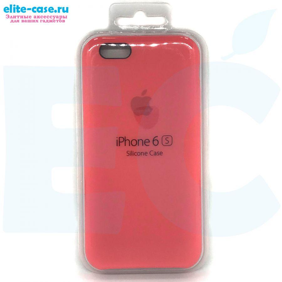 Силиконовый чехол Silicon Case для Apple iPhone 6/6S розовый