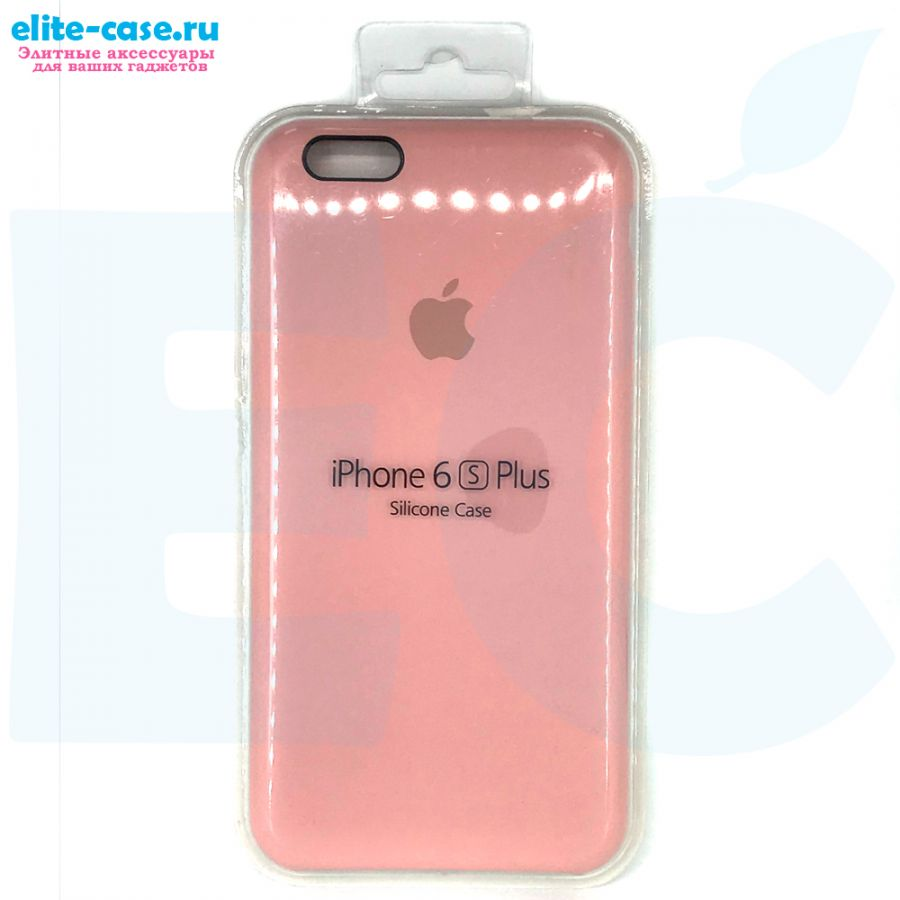 Чехол Silicon Case для iPhone 6 Plus/6S Plus розовый