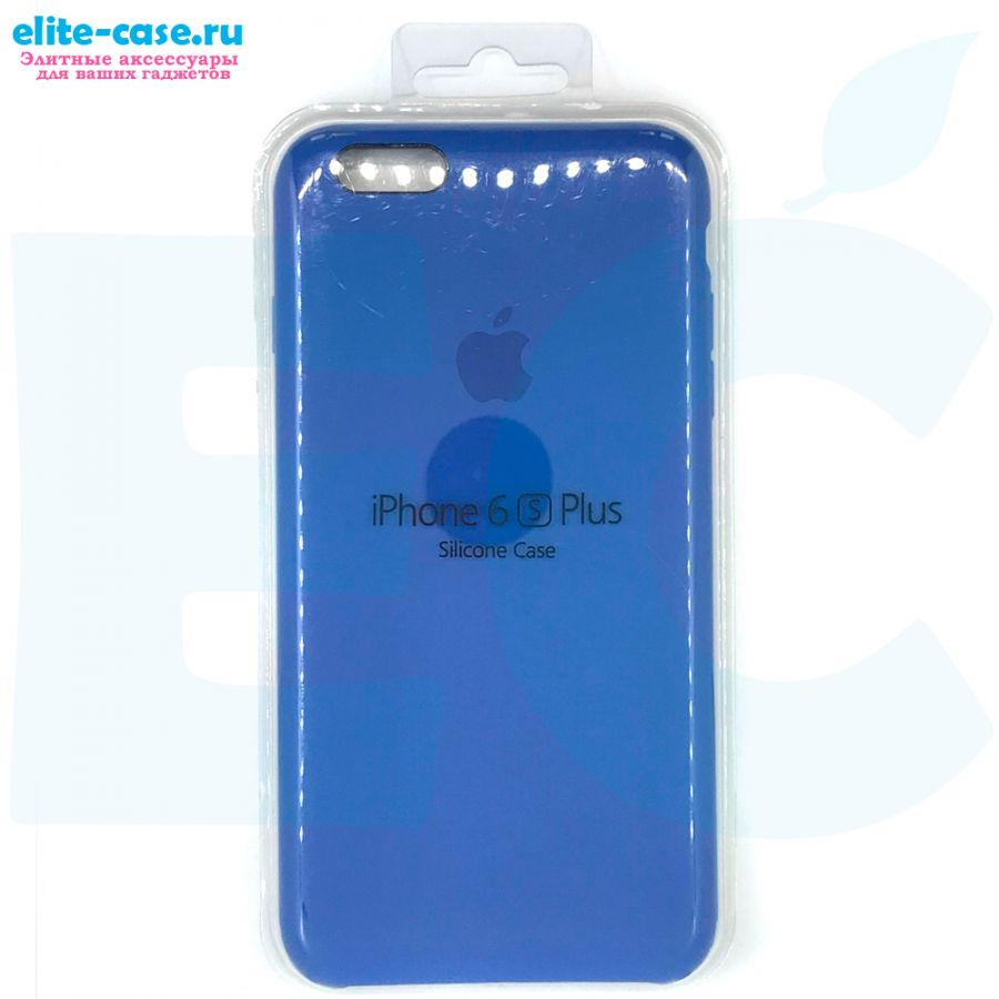 Чехол Silicon Case для iPhone 6 Plus/6S Plus голубой