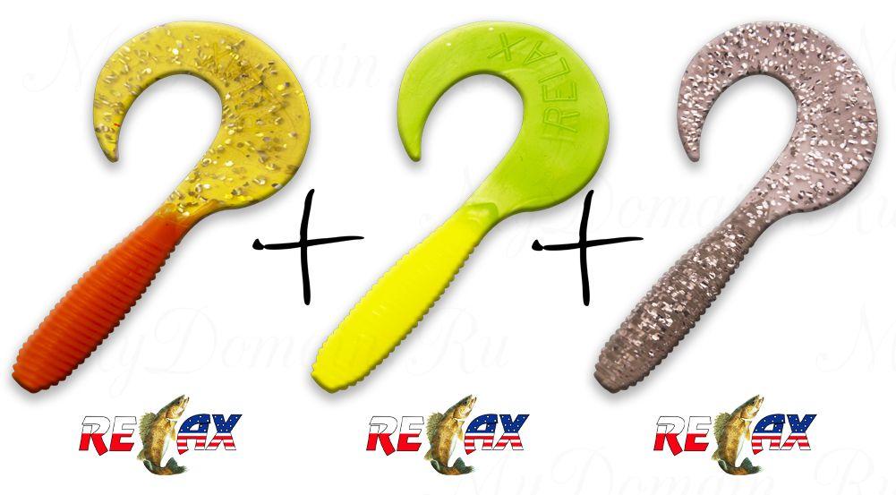 Набор твистеров №4 RELAX (75 шт)