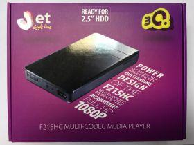 Цифровой мультимедиа плеер 3Q 3QMMP-F215HС-W/O HDD Black