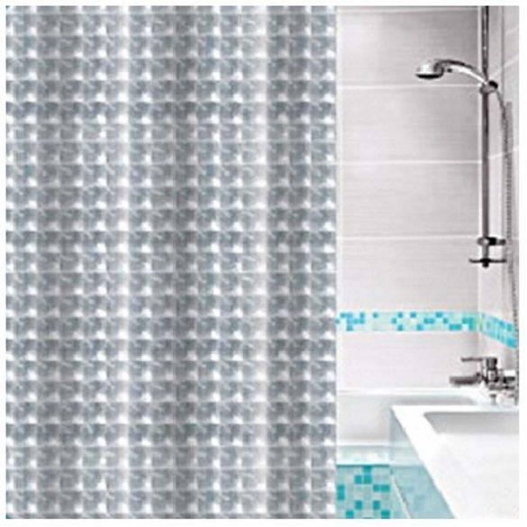 """Штора для ванной """"Fresh Code""""3-d 180 х 180 см  70427"""