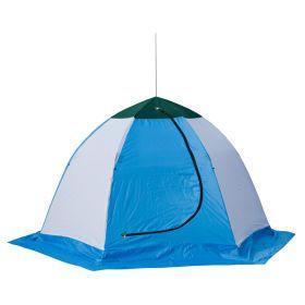 Палатка зимняя СТЭК ELITE 4 трехслойная (дышащая)