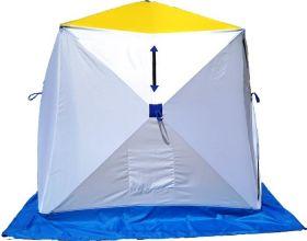 Палатка зимняя СТЭК КУБ-2 трехслойная