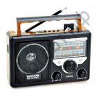 Радиоприёмник сетев. NAKIYA RF-1313BT Bluetooth USB SD аккумулятор =AT-816