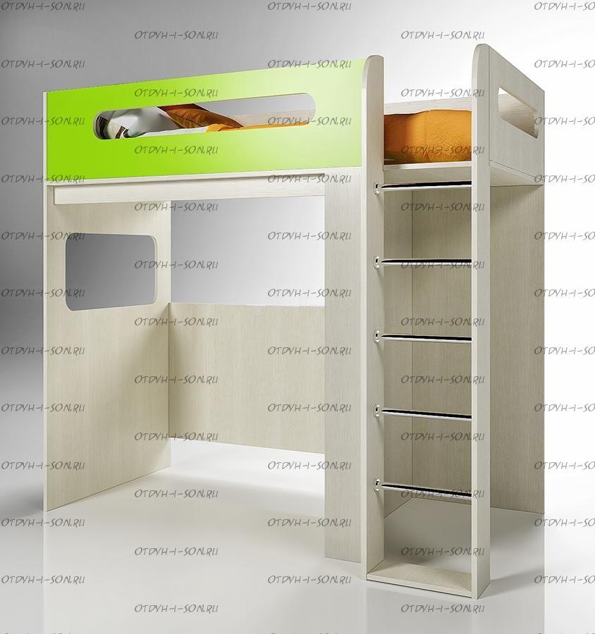 Кровать-чердак Фанки Кидз 24