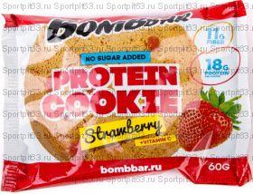Печенье протеиновое Bombbar, 60 г в ассортименте