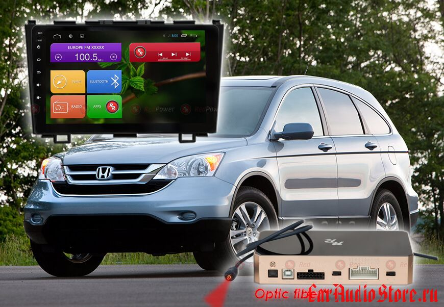 Honda CR-V Redpower 31009 R IPS DSP ANDROID 7