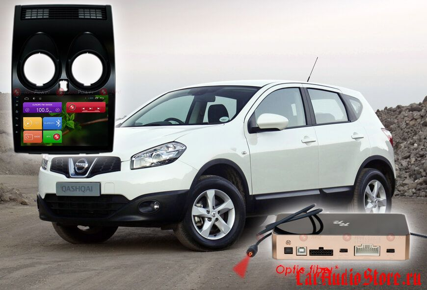 Nissan Qashqai J10 Redpower 31030 R IPS DSP ANDROID 7