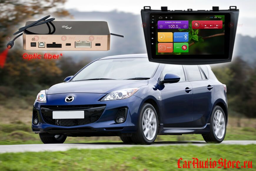 Mazda 3 Redpower 31034 R IPS DSP ANDROID 7