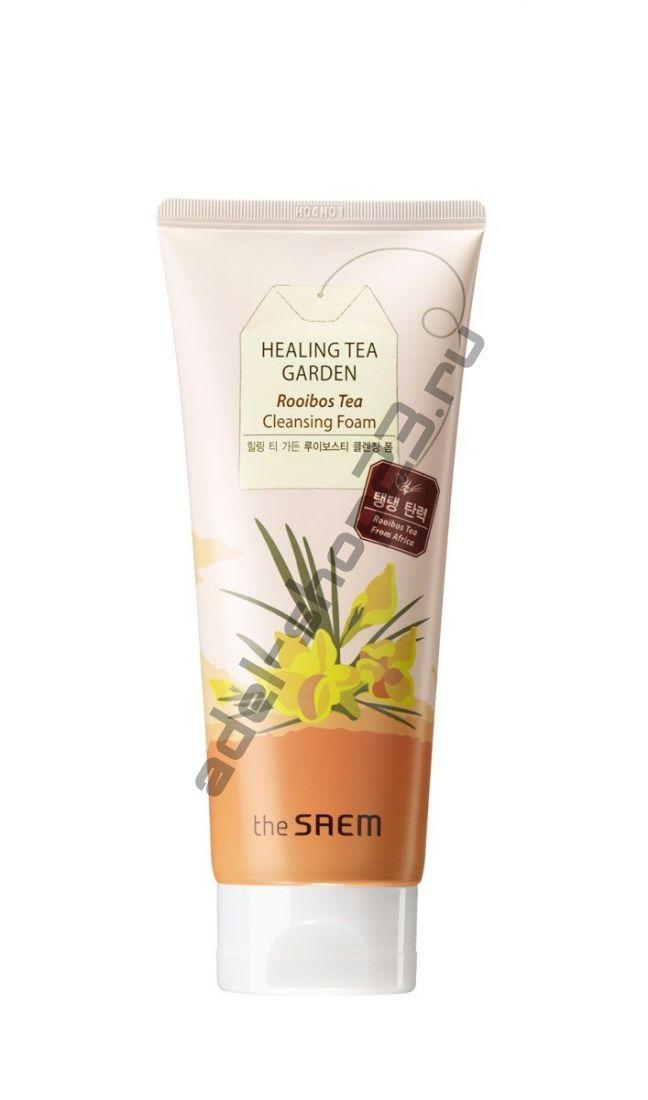 The Saem - Пенка для умывания с экстрактом чая ройбуш Healing Tea Garden Rooibos Tea Cleansing Form