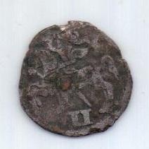 2 денария 1570 г. Литва