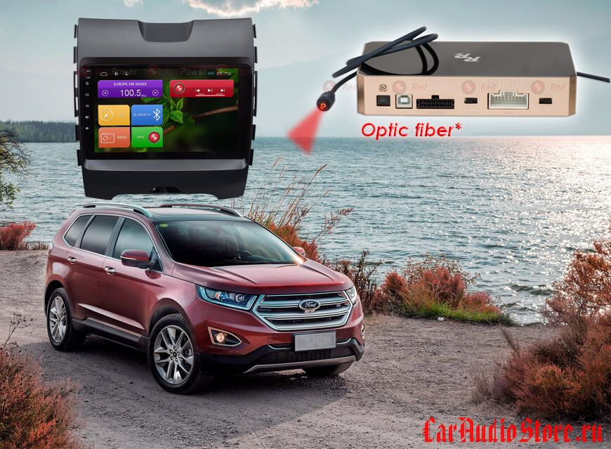 Ford Edge Redpower 31138 R IPS DSP ANDROID 7