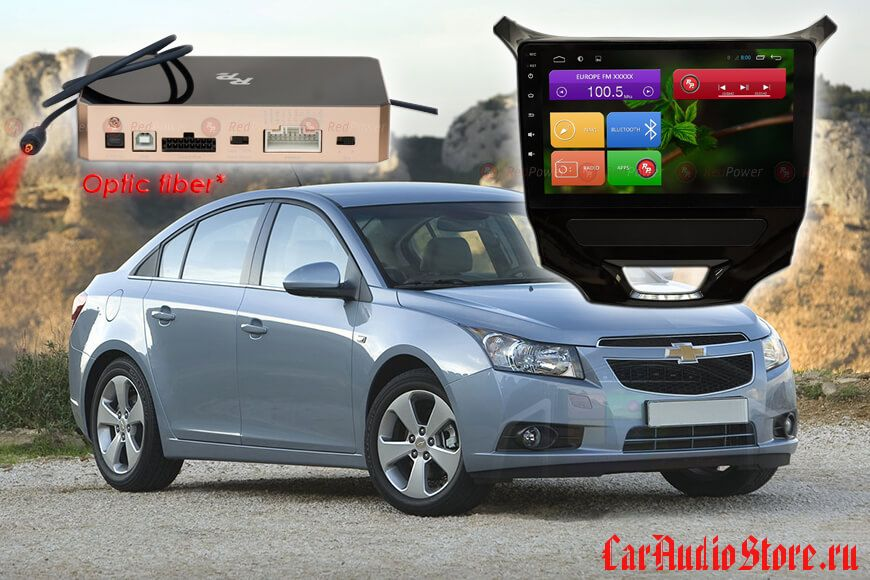 Chevrolet Cruze 2013+ Redpower 31152 R IPS DSP ANDROID 7