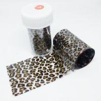 Фольга для литья, леопард 079, 70 см