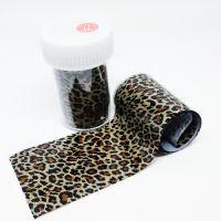 Фольга для литья, леопард 077, 70 см