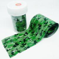 Фольга для литья, зеленая, камуфляж 083, 70 см