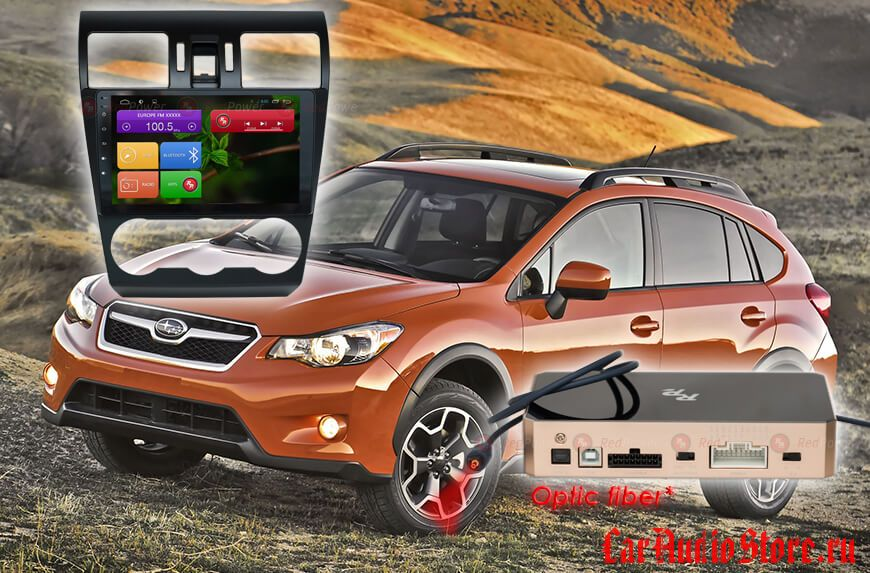 Subaru Forester, XV Redpower 31362 R IPS DSP ANDROID 7