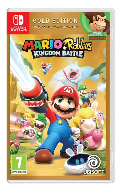 Mario + Rabbids Битва за королевство Gold Edition (Nintendo Switch)