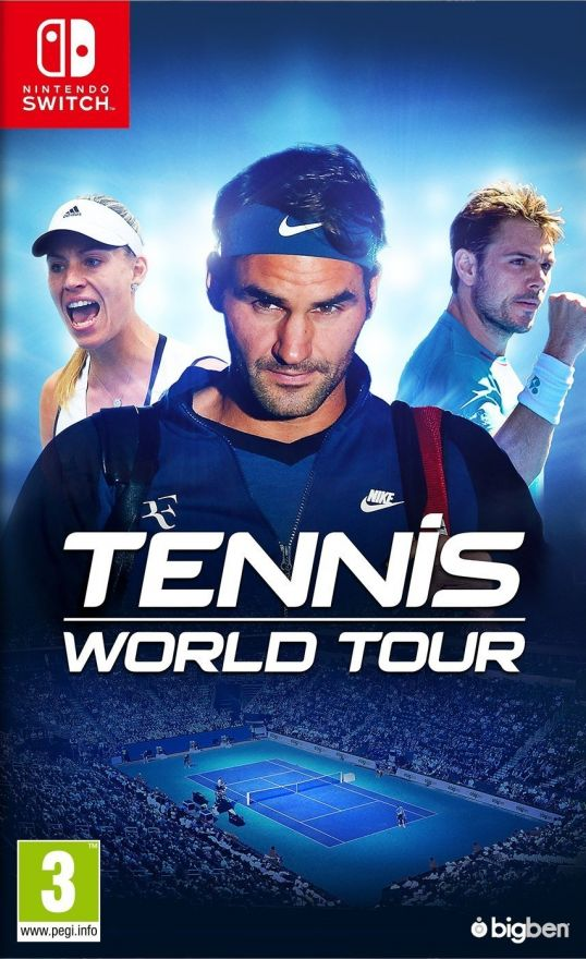 Игра Tennis World Tour (Nintendo Switch)