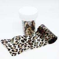Фольга для литья, леопард 050, 70 см