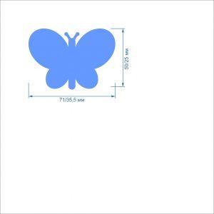 Заготовка ''Бабочка -1, набор'' , фетр 1 мм (1уп = 5наборов)