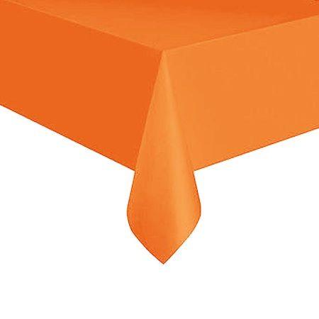 скатерть оранжевая одноразовая