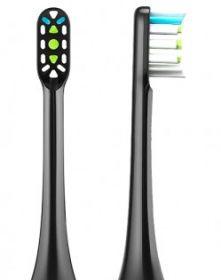 Насадка для зубной щетки SOOCAS X3 Black (2 шт)