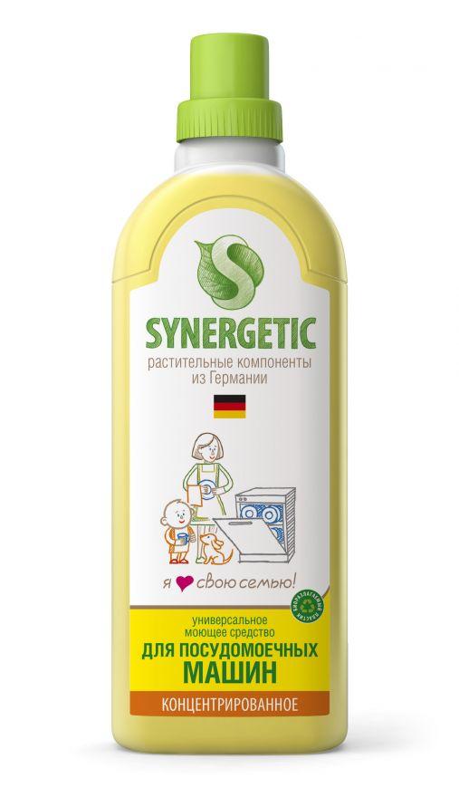 Средство концентрированное для посудомоечных машин Synergetic (Синергетик) 1000 мл