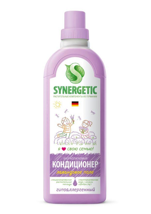 Кондиционер для белья ЛАВАНДОВОЕ ПОЛЕ Synergetic (Синергетик) 1000 мл