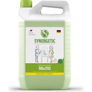 """Мыло жидкое биоразлагаемое для мытья рук и тела """"Луговые травы"""" Synergetic (Синергетик) 5000 мл"""