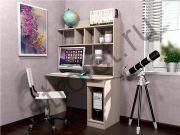 Стол компьютерный НМ 011.61 Ясень Шимо Светлый