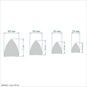 `Набор шаблонов ''Ушки'' , ПЭТ 0,7 мм